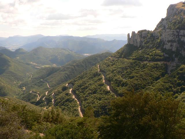 Route montant au col du Rousset dans le Vercors