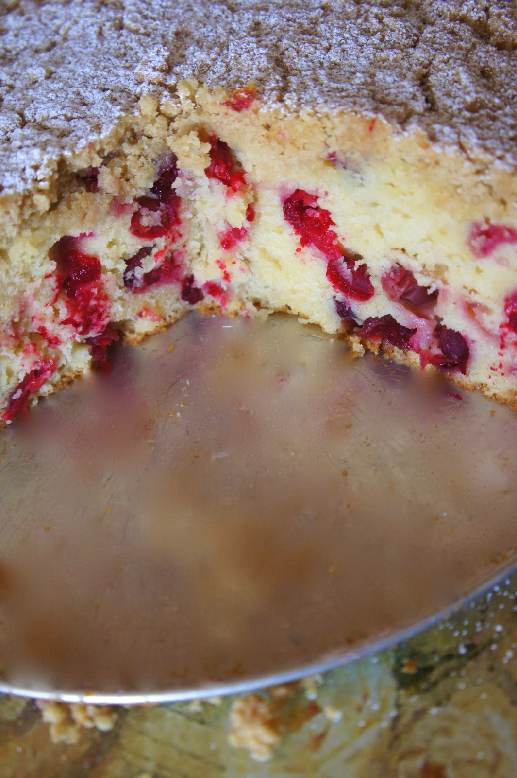 Cranberry Almond Streusel Coffee Cake: Savory Sweet and Satisfying