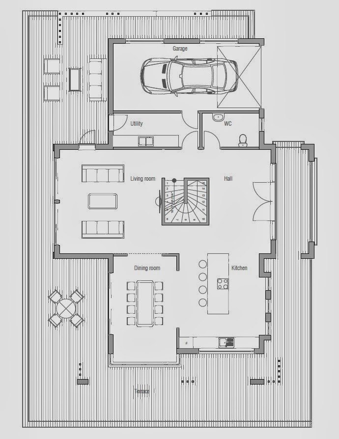 Australian house plans australian house plan ch204 for Home plans australia