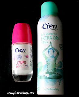 Review: Deodorante Spray & Roll On - Cien