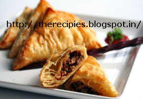 Chinese stuffed samosa