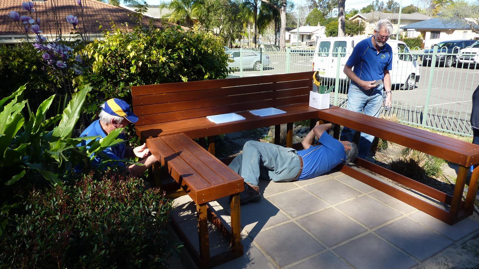 Preschool Kitchen Furniture Outdoor Kitchen For Gosford Preschool Mens Sheds
