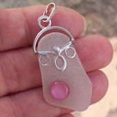 Dorset Seaglass with M.O.P