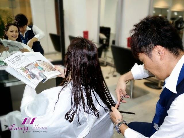 naoki yoshihara hair cut promo japanese hair stylists