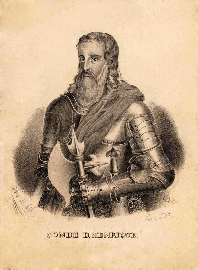 Conde de Portugal D. Henrique de Borgonha