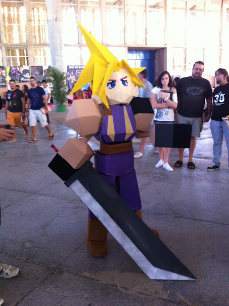 Cloud de FF1  en la Comic Con Spain 2012