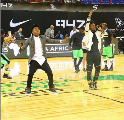 Don Jazzy, Korede Bello, Reekado Banks thrill at NBA Africa Game(Photos)