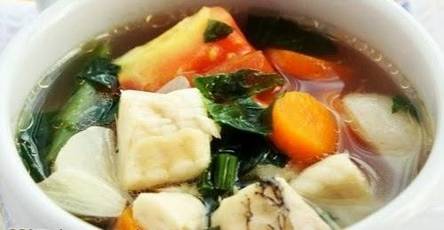 Resep Membuat Sup Ikan Gurame