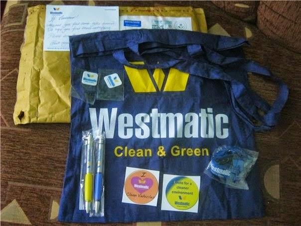 Échantillons Gratuits une sacoche des Stylos et des brochures de Westmatic chez vous
