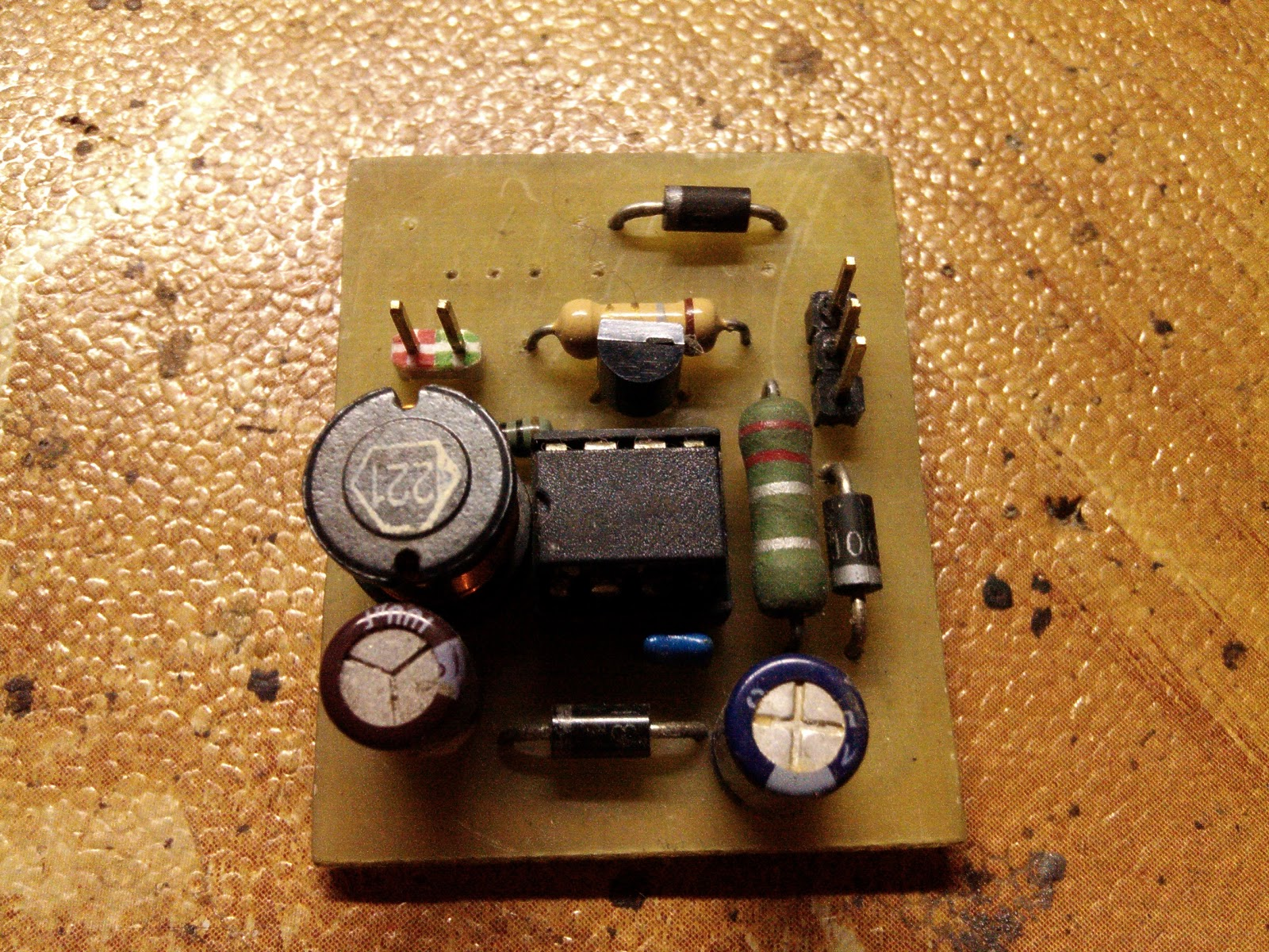 Power Led Driver Sumeets Web Circuit Ncp3063