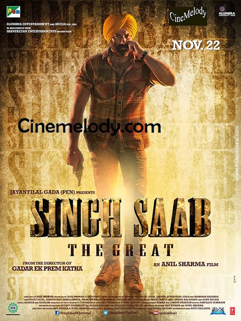 Singh Saab The Great  Hindi Mp3 Songs Free  Download  2013