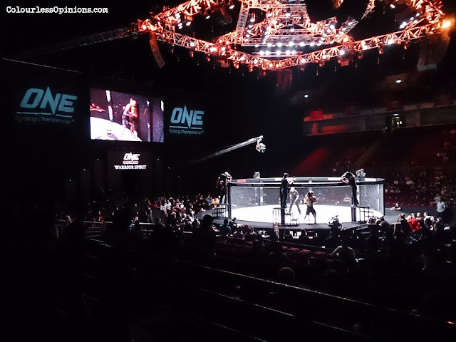 ONE FC 12 Warrior Spirit Stadium Putra crowd ring octagon