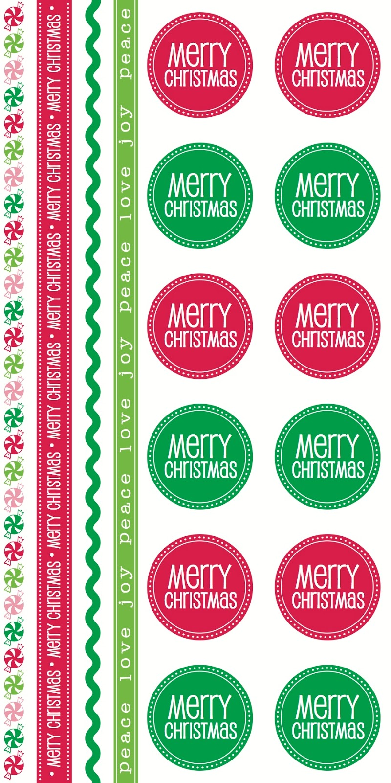 SRM Stickers BLog - New Product Reveal Stickers - #stickers #Take2 #Christmas