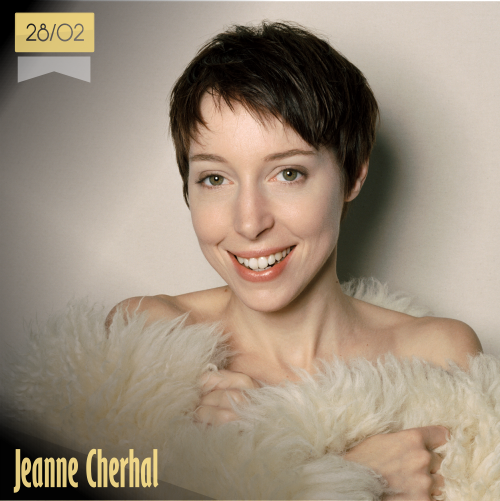28 de febrero | Jeanne Cherhal - @JeanneCherhal | Info + vídeos