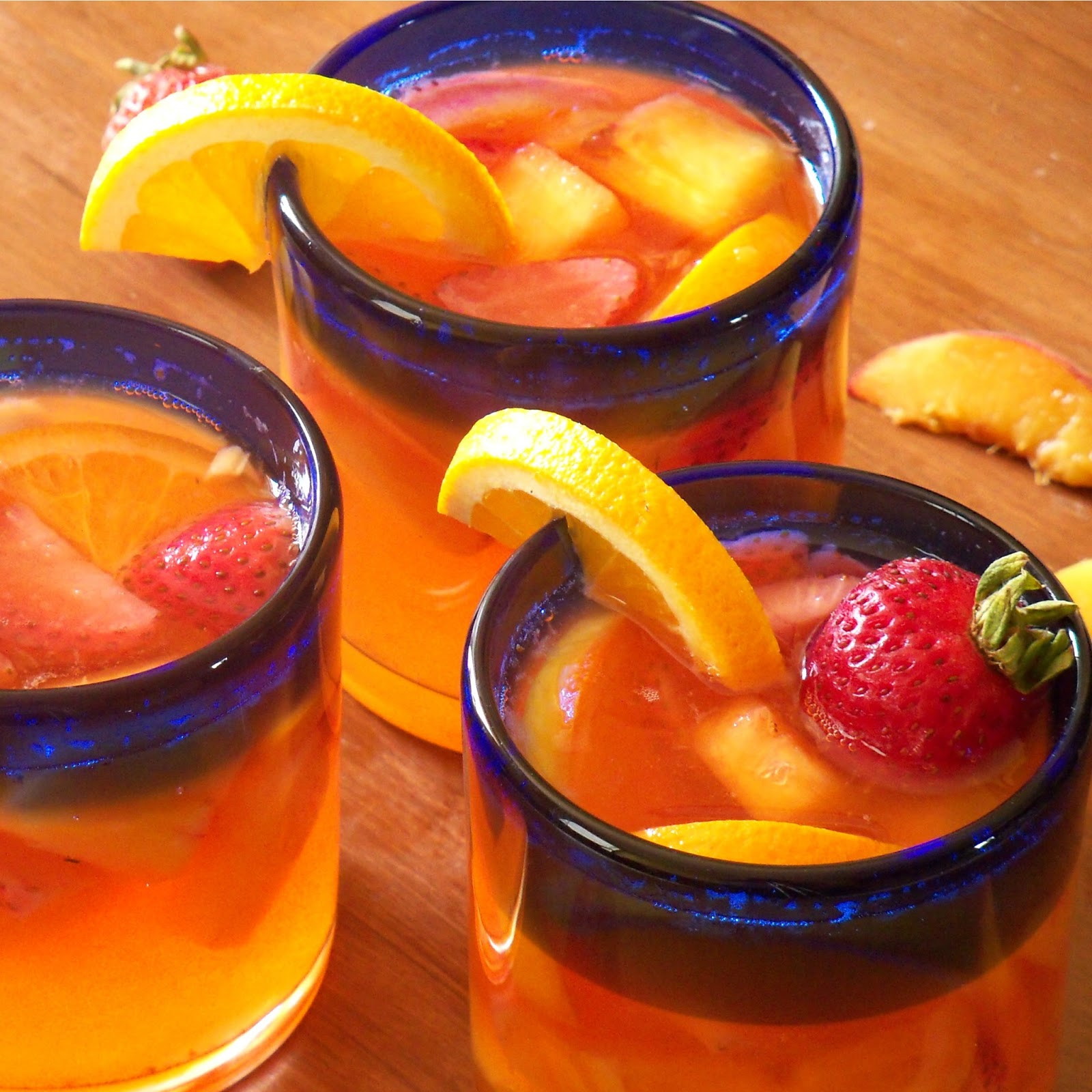 The Style Dossier: Peach Sangria