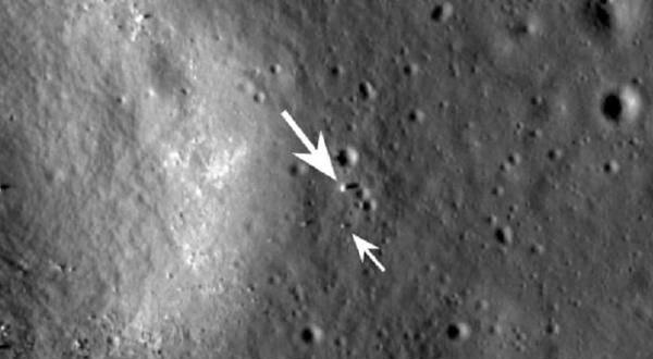Satelit NASA Mengambil Gambar Cang'e China di Bulan
