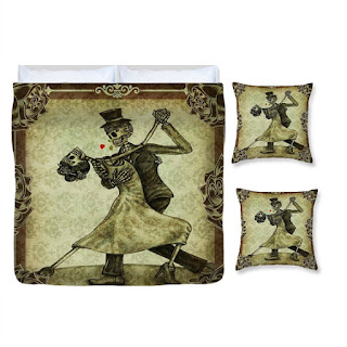 The Dance Skeletons Grunge Antique Brown Bedding Set Would Be A Fun To Have Especially If You And Yours Love Bit Of Steampunk Goth