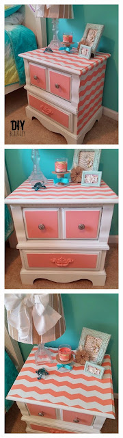 Painting girl's bedroom furniture DIY beautify blog