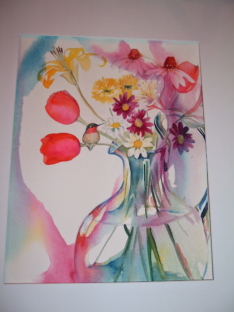 Diana M. Davis Watercolor