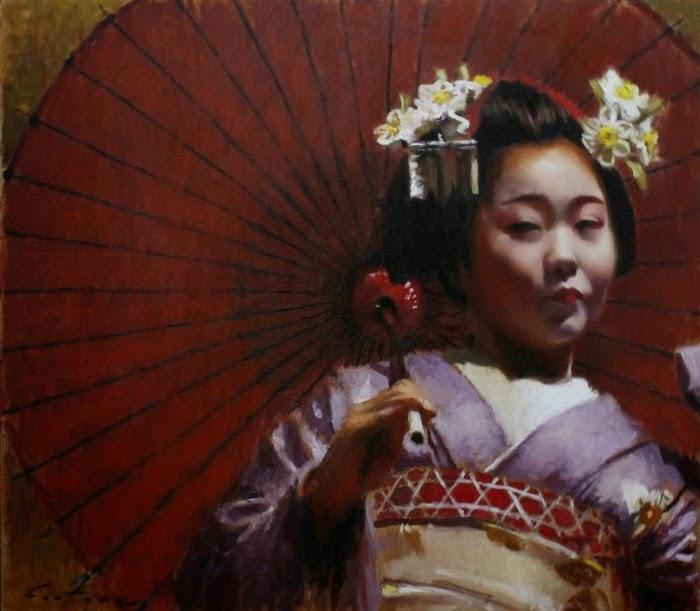 Японские мотивы. Phil Couture