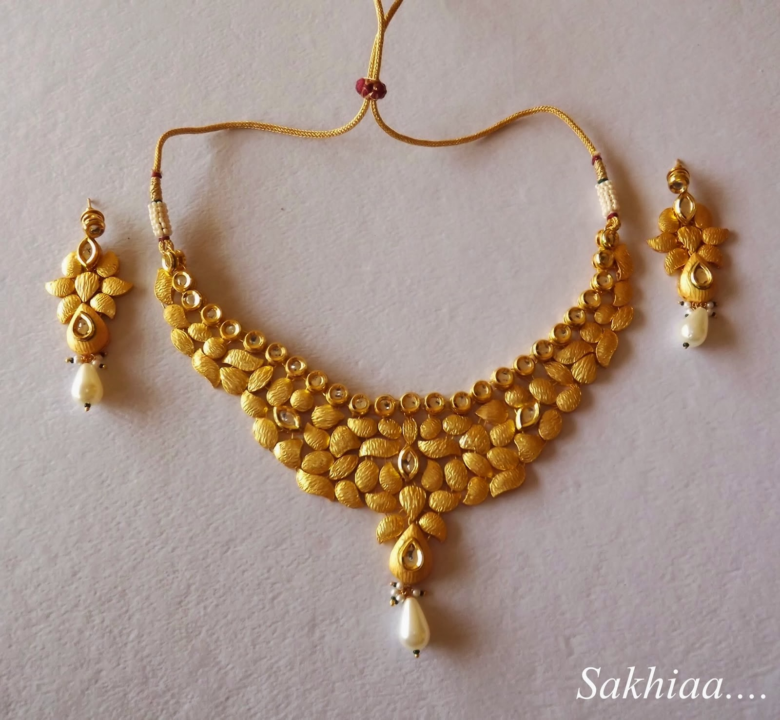 Unique Gold Bridal Necklace Designs | Jewellry\'s Website