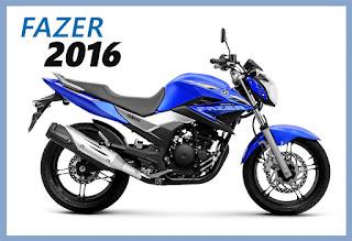 Yamaha Fazer 250 2016 azul