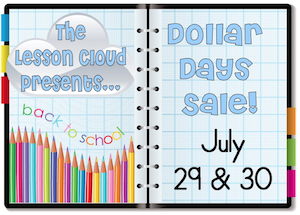 photo of Lesson Cloud Dollar Days Sale July 29th and 30th Lesson Cloud