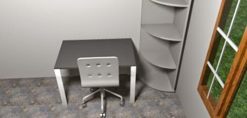 meja belajar anak minimalis
