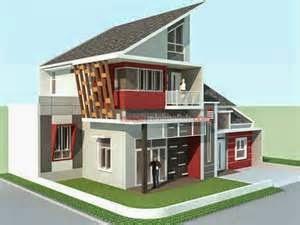 Selain pintu dan jendela yang bisa dimodifikasi modelnya, denah rumah minimalis type 36 hook dapat juga berupa bangunan yang terdiri dari dua lantai.