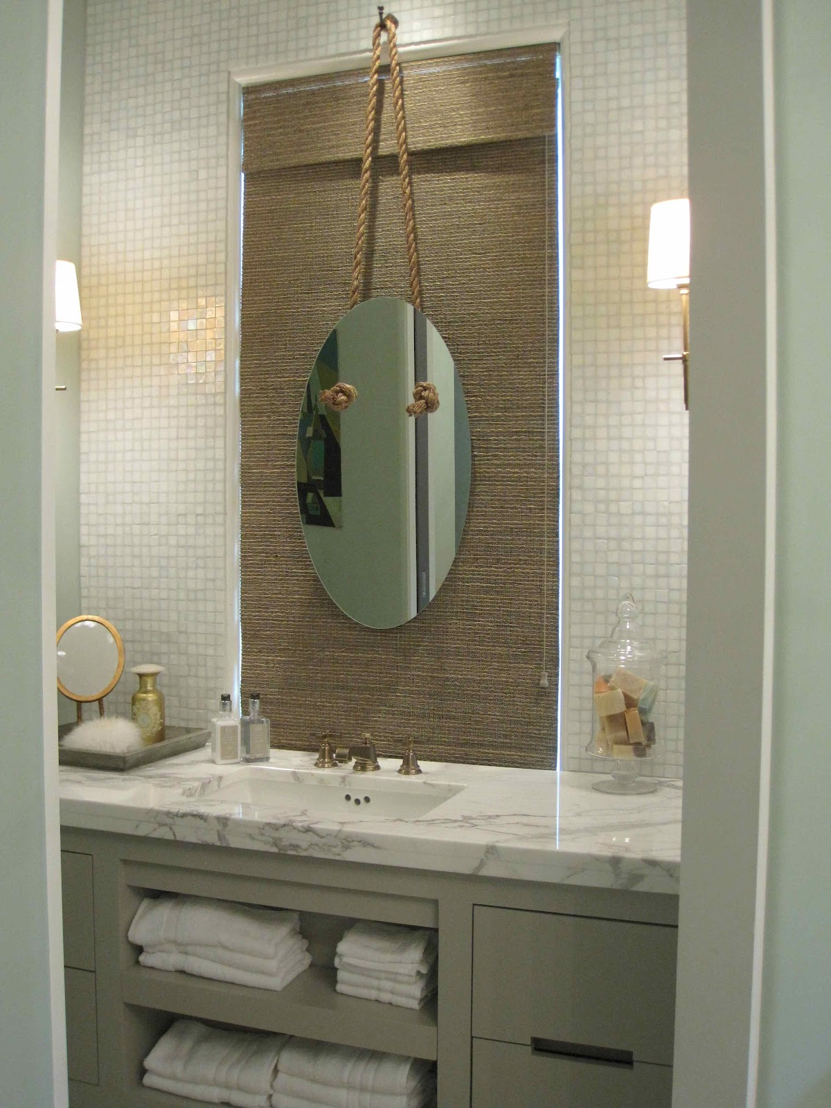 Tour of coastal living 39 s 2012 ultimate beach house driven by decor - Nautical decor bathroom ...