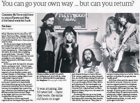fleetwood mac you can go your own way