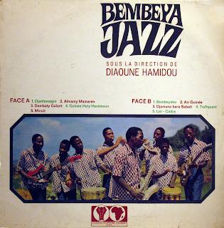Bembeya Jazz sous la directionde Diaoune Hamidou, EditionsSyliphone Conakry 1968