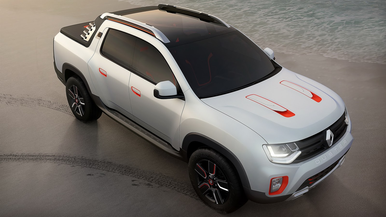 renault turns duster into oroch pickup truck concept for. Black Bedroom Furniture Sets. Home Design Ideas