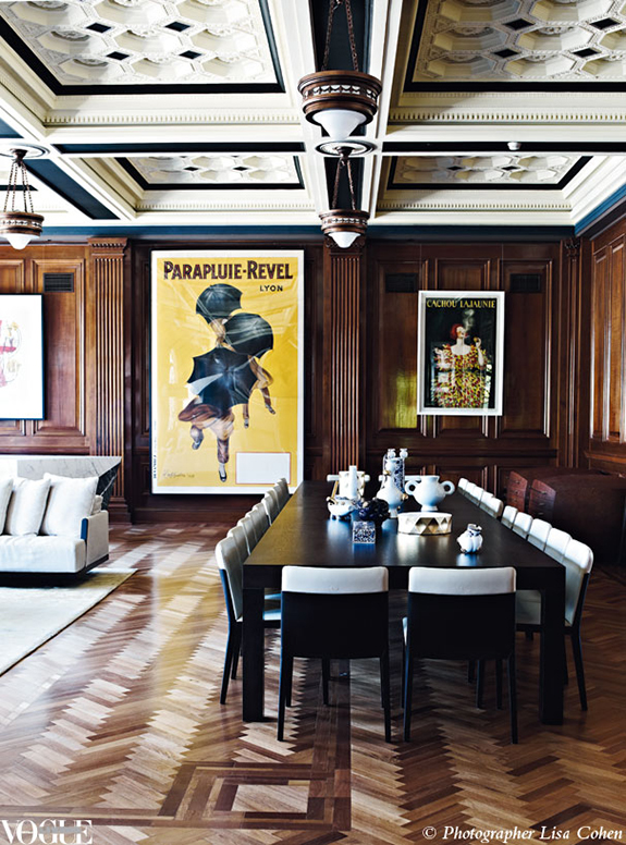 Sara russell masculine monday 1920s office turns into a home - An office turned into a home ...