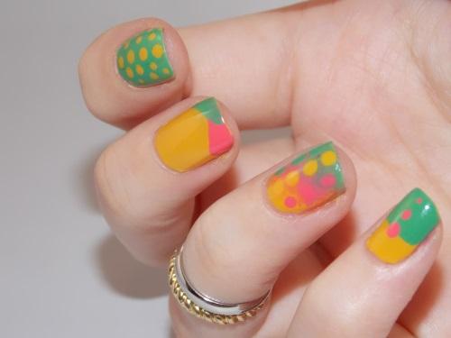 nail art dots gradient blog beauté psychosexy