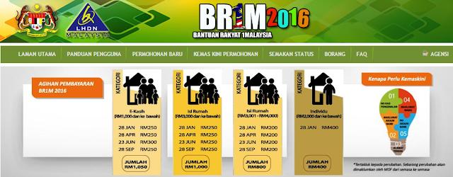 BR1M 2016 | Bantuan Rakyat 1Malaysia