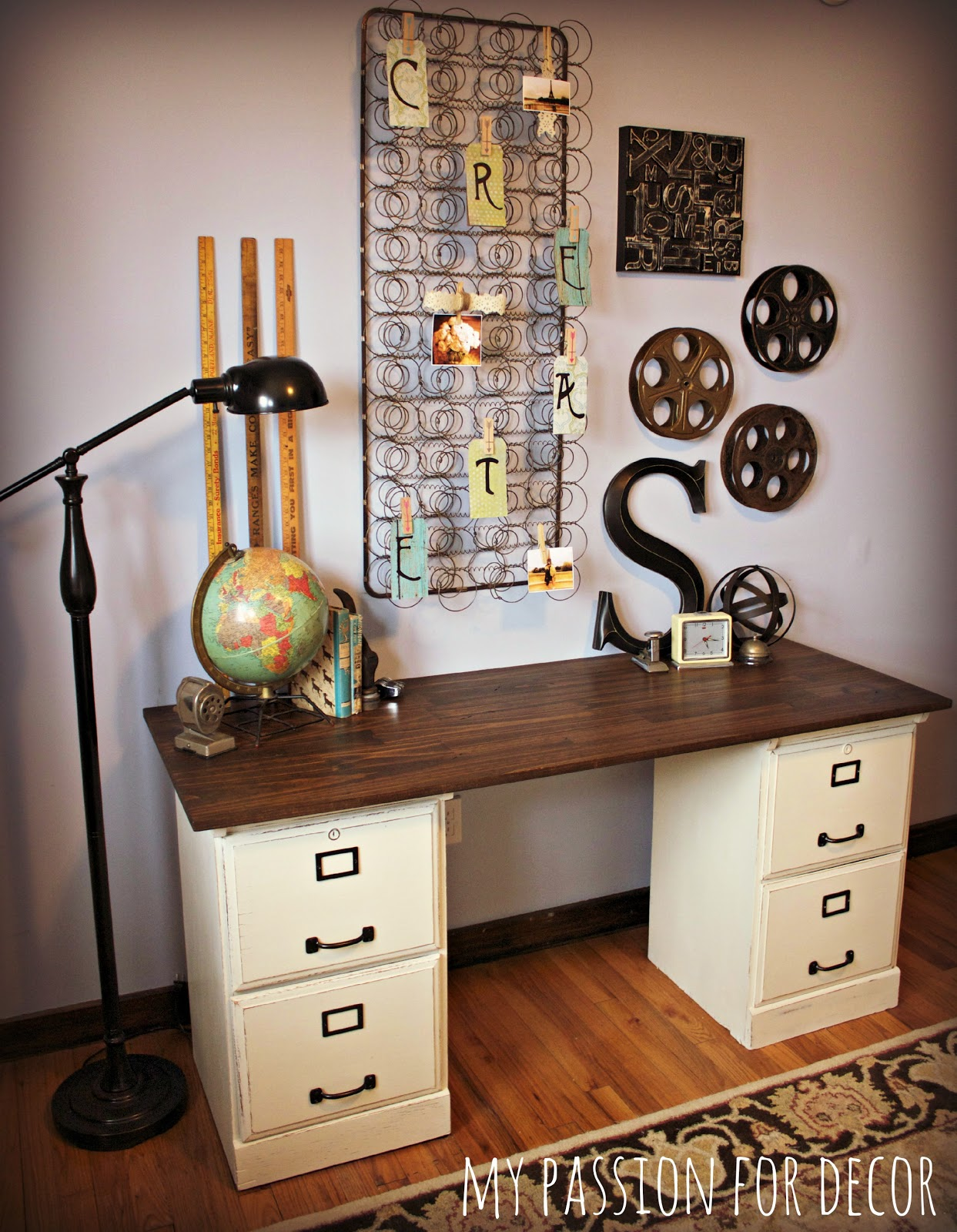 my passion for decor my pottery barn desk hack