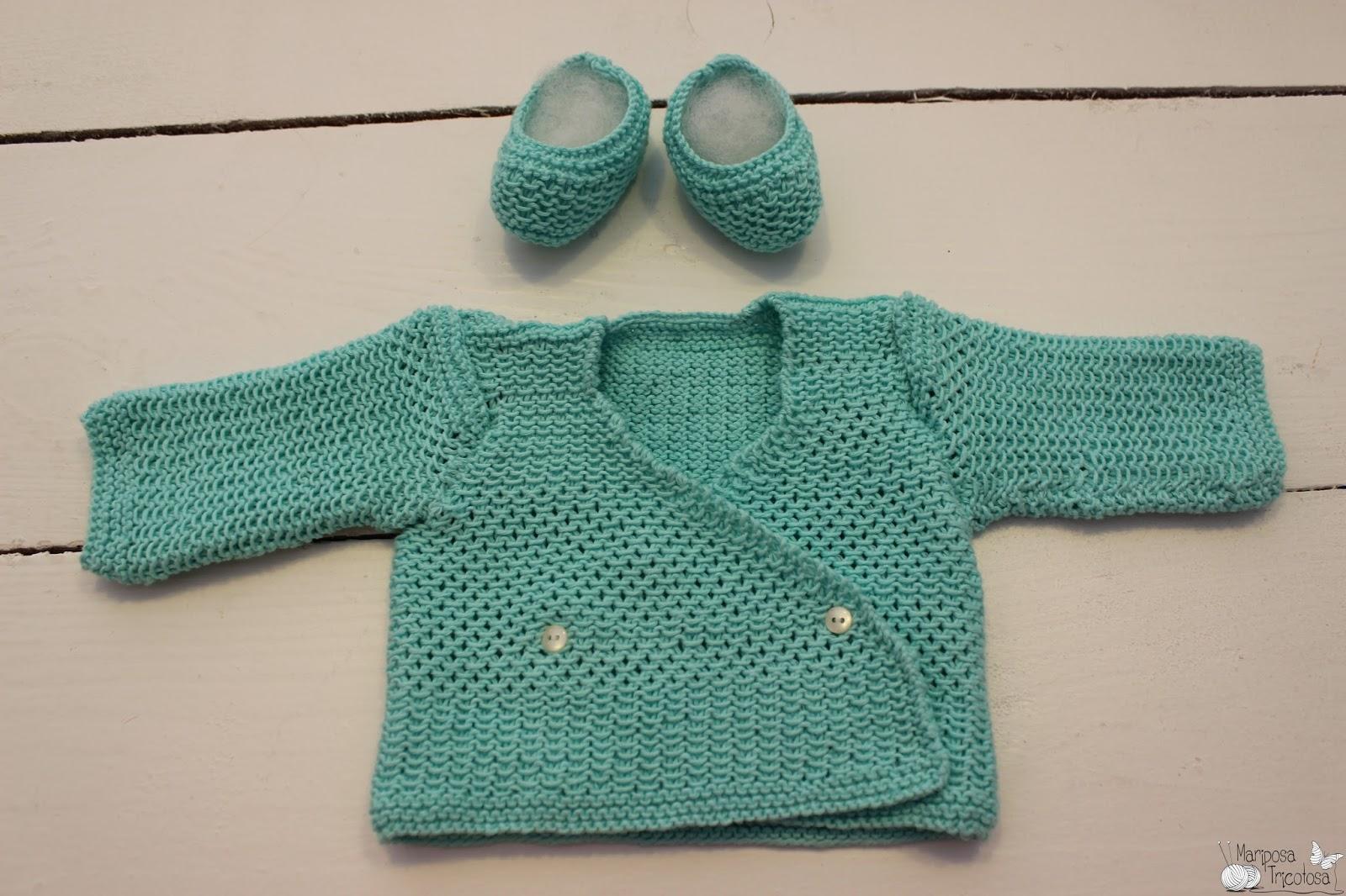 mariposa tricotosa: Estrenando la primavera: jerséis de bebé de hilo ...