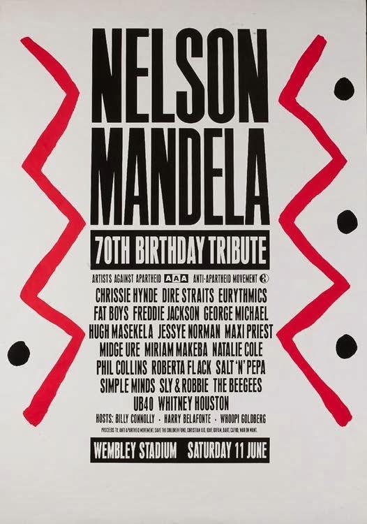 Homenaje a Nelson Mandela en su 70º cumpleaños