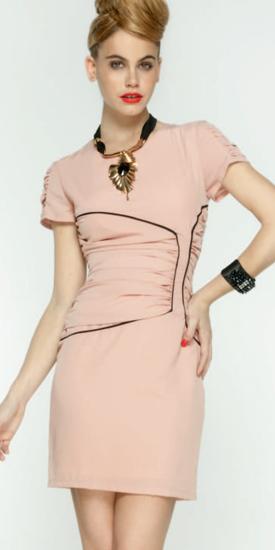 moda vestidos fiesta 2012