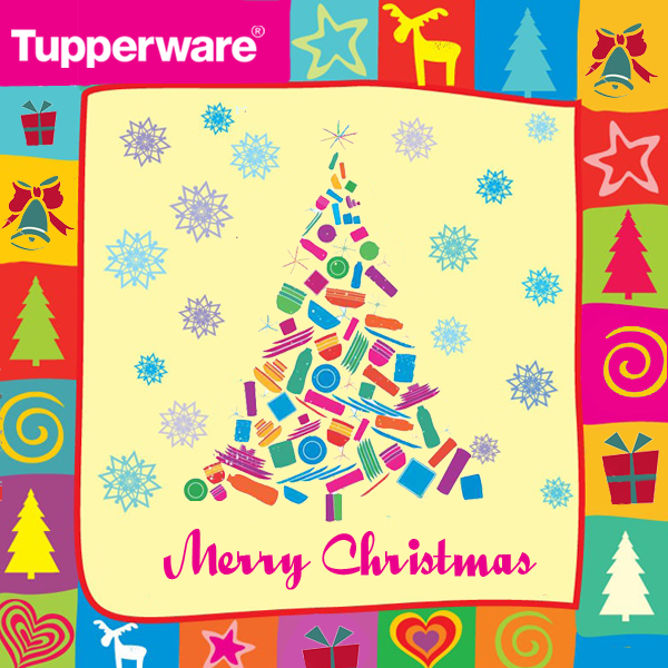 Celebrate This Christmas With Tupperware For Long Lasting