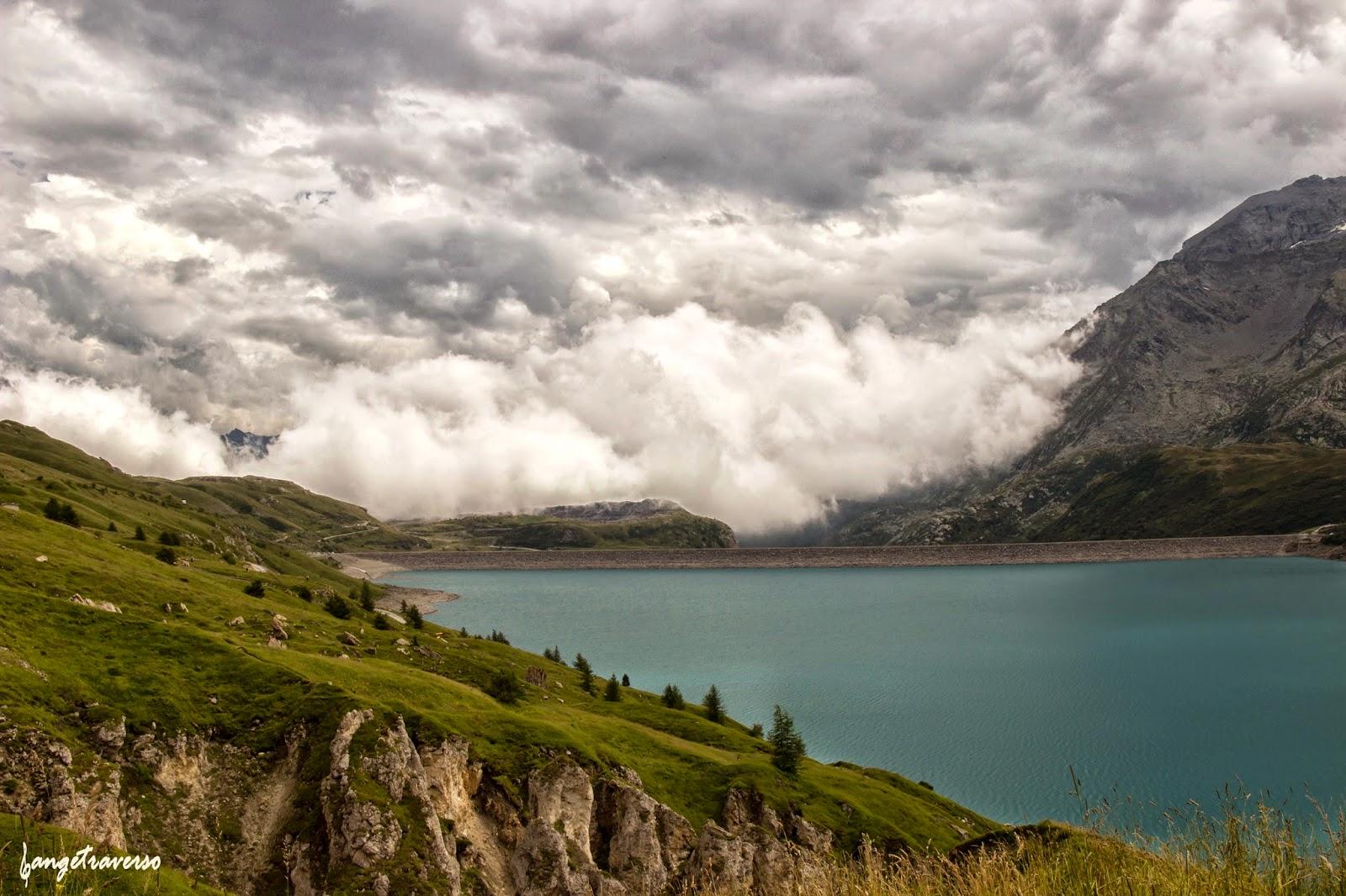 Randonnée pédestre près du Lac du Mont-Cenis, Savoie, Italie