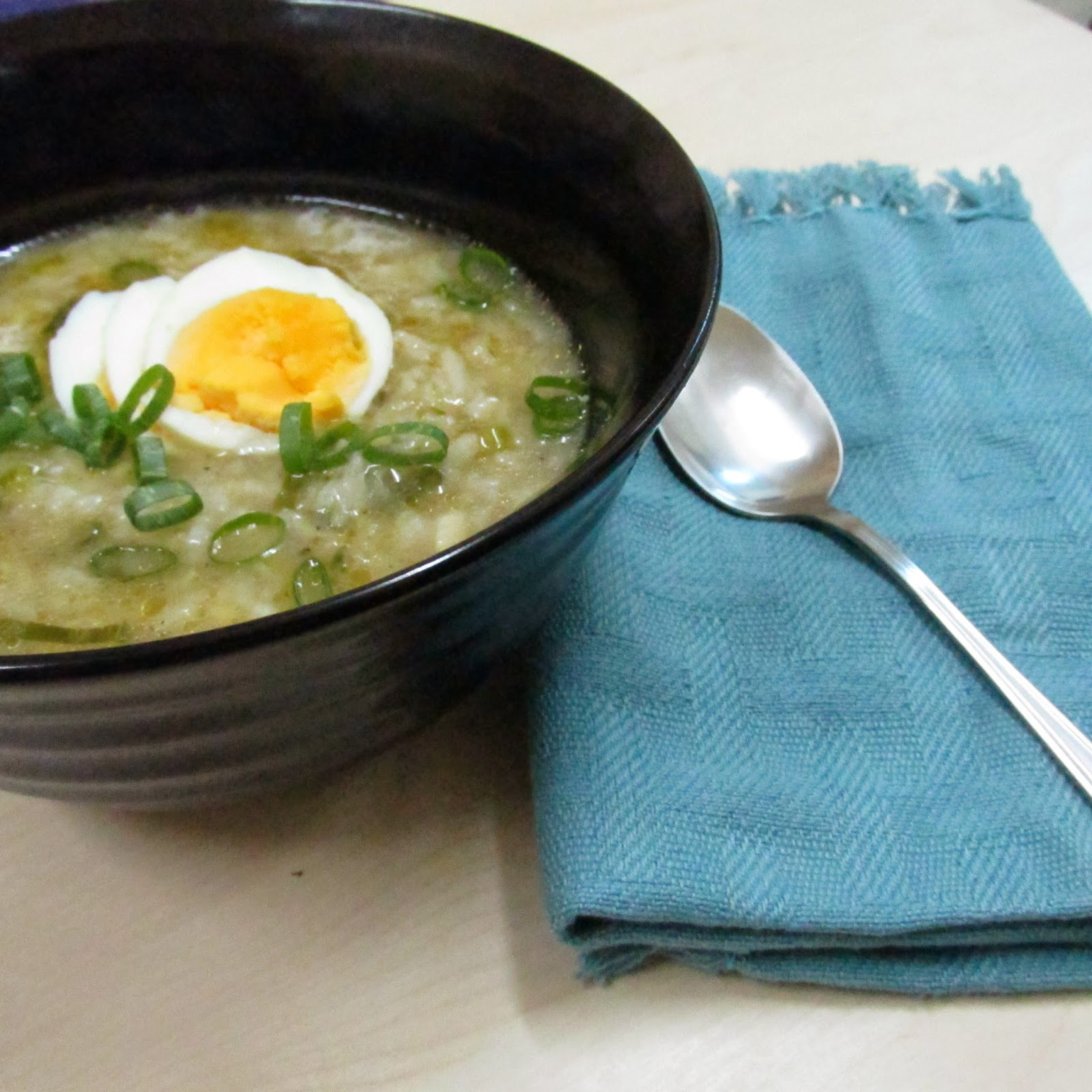 Darlene cooked this: Arroz Caldo