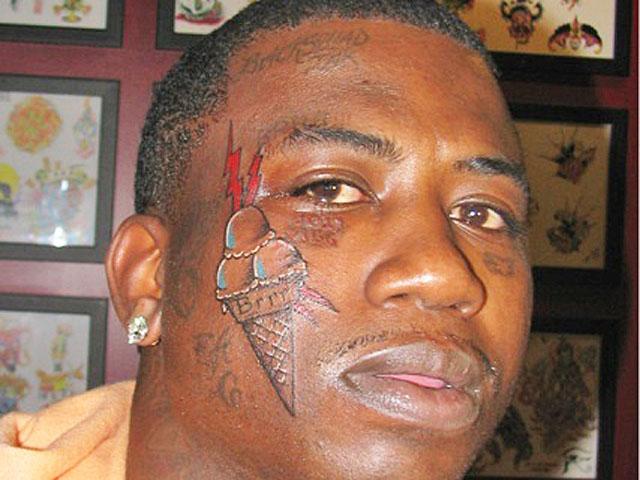 Gucci Mane Face Tattoo