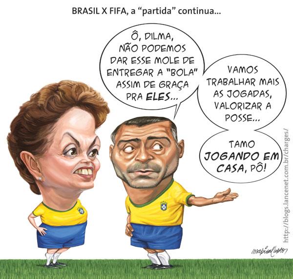 Dilma x Fifa