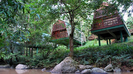 lodge lembah tabin