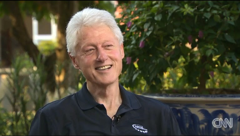 Bill Clinton in an Interview with CNN