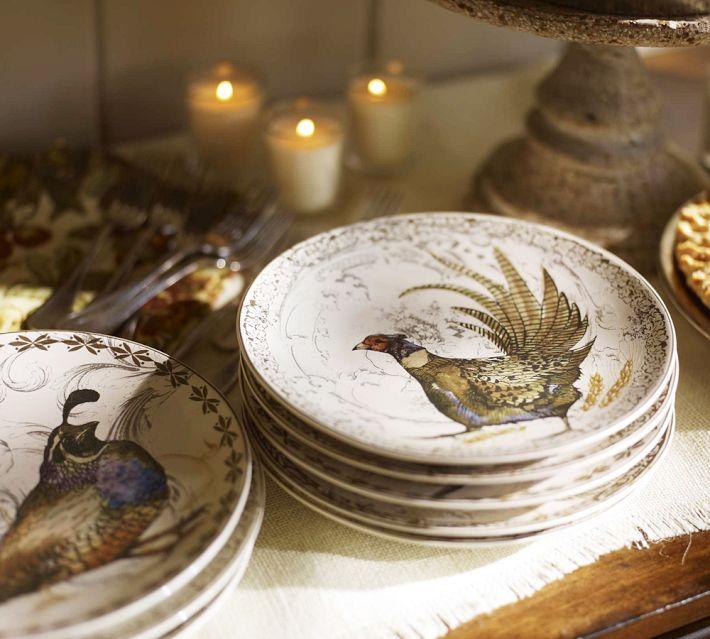 Vignette design let 39 s talk turkey for Pottery barn thanksgiving