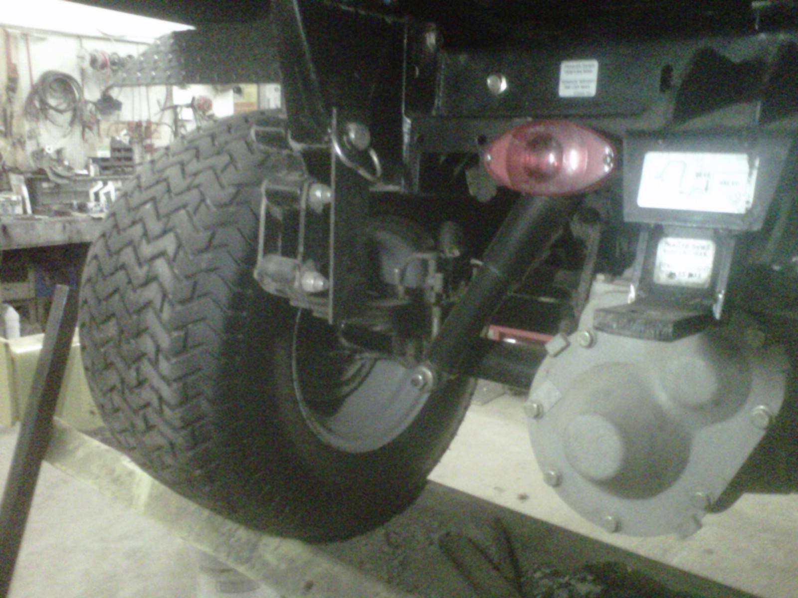 Bobs Shop: Cushman tow hitch Fabrication . on