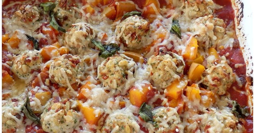 Chez crissou boulettes de poulet la sicilienne au four - Blog cuisine sicilienne ...